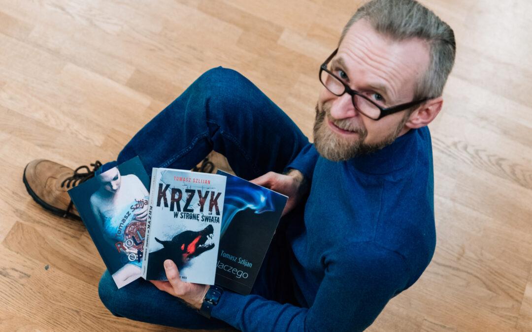 Tomasz Szlijan – stolarz z talentem do pisania