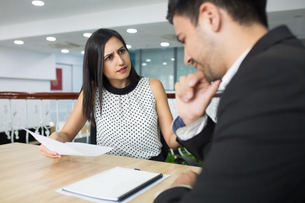 5 błędów wagi ciężkiej podczas rozmowy o pracę